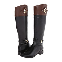 MICHAEL Michael Kors Stockard Boot Black Vachetta/Mocha - Zappos.com Free Shipping BOTH Ways