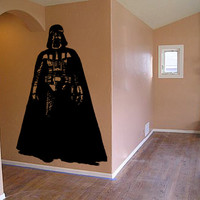Star Wars Vinyl Wall Decal Wall Decor Darth VADER Sticker Home Decor Kids Children Room Nursery Decal CHOOSE Your SIZE!