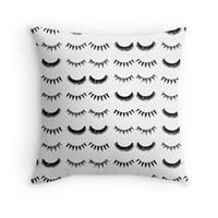 Lush Lashes - Decor Pillow