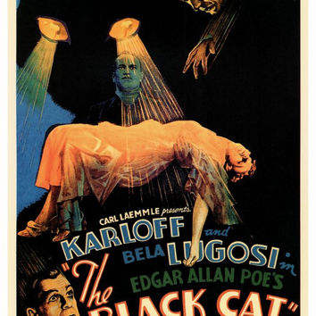 The Black Cat 27x40 Movie Poster (1934)