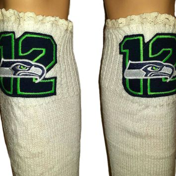 Seahawks Beanie and or Leg Warmers