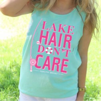 Jadelynn Brooke Lake Hair Don't Care Tank Top