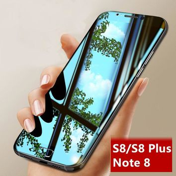 Luxury 3D Full Cover Curved Tempered Glass Screen Protector Cover for S8/ S8 Plus/ Note 8