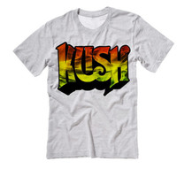 Denver Kush Tshirt | Weed Marijuana Kush Tee | Rush Tee Shirt | Medical Marijuana Hash Oil Dabs Grandaddy Purp Blue Dream Bubba Kush Tees