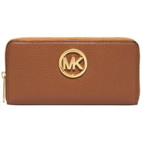 MICHAEL Michael Kors Fulton Zip Around Continental Wallet | macys.com