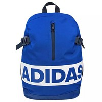 ADIDAS 2019 new casual couple models outdoor sports travel backpack blue