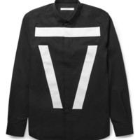 Givenchy - Band-Trimmed Cotton Shirt | MR PORTER