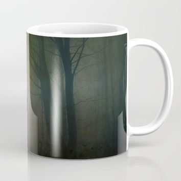 The Hound In The Woods Mug by Theresa Campbell D'August Art