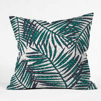Zoe Wodarz The Palm Hotel Outdoor Throw Pillow