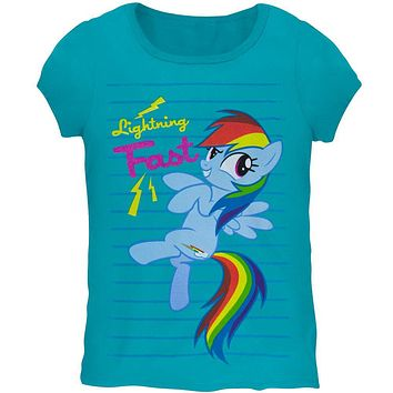 My Little Pony - Lightning Fast Girls Youth T-Shirt