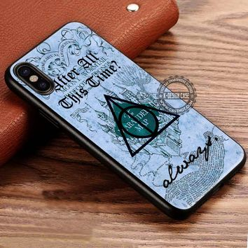 Harry Potter After All This Time Always Quote iPhone X 8 7 Plus 6s Cases Samsung Galaxy S8 Plus S7 edge NOTE 8 Covers #iphoneX #SamsungS8