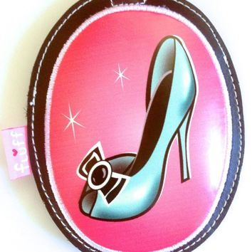 "LUGGAGE BAG TAG By FLUFF "" PIN UP'S CLOSET"""