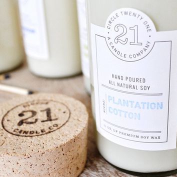 Circle 21 Candle Plantation Cotton