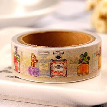 Perfume Bottle Washi Tape (Wanelo Special)