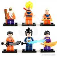 Dragon Ball Z Minifigures - Lego Compatible