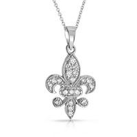 Bling Jewelry Fleurally Fab Chain