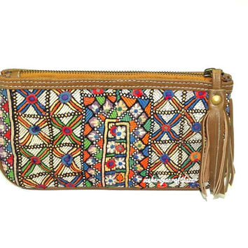 Vintage Gypsy Purse Banjara Clutch Bag Gypsy Embroidred Wallet