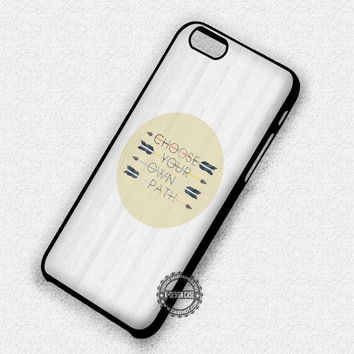 Inspiring Life's Quote - iPhone 7 Plus 6 SE Cases & Covers