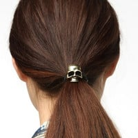 Urban Outfitters - Skull Ponytail Holder