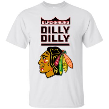 Chicago Blackhawks : Dilly Dilly : T-Shirt