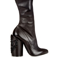 Prive embellished-leather boots   Givenchy   MATCHESFASHION.COM