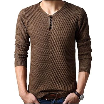Sweater Men Cashmere Pullover Christmas Sweater Mens Knitted Sweaters Pull Homme