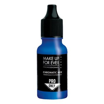 Makeup Forever Chromatic Mix  WATER BASE Make Up Liquid Pigments Blue