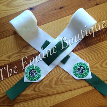 STARBUCKS Horse Size Polo Wraps by TheEquineBoutique on Etsy
