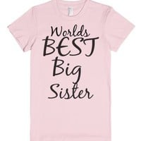 Big Sister-Female Light Pink T-Shirt
