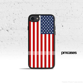 American Flag USA Phone Case Cover for Apple iPhone Samsung Galaxy S & Note