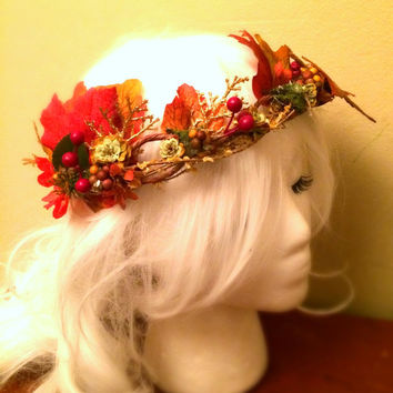 Autumn Woodland Crown