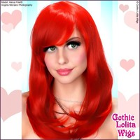 Daily Doll Collection: Red - Gothic Lolita Wigs Store