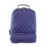 20280 NILA ANTHONY Faux leather quilted backpack. (Picture does not represent exact color) (Mint)