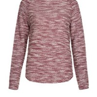 New Look Mobile | Red Lightweight Raglan Sleeve Knitted Sweater