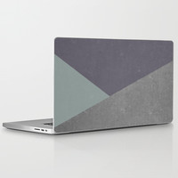 Concrete & Triangles Laptop & iPad Skin by no.216