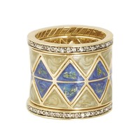House of Harlow 1960 Jewelry Reflector Ring Stack
