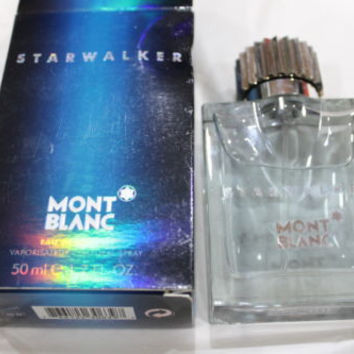 Mont Blanc Men's Star Walker Eau De Toilette Spray 1.7 oz