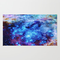 Space Has Natural Glitter Area & Throw Rug by 2sweet4words Designs