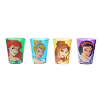 Disney Princess Shot Glass 4 Pack