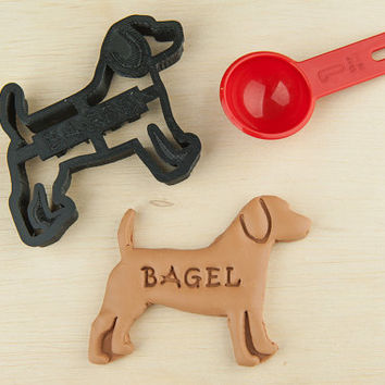 Beagle Dog Cookie Cutter  Custom Treat Personalized