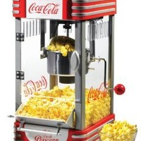 Amazon.com: Nostalgia Electrics Coca Cola Series RKP630COKE Kettle Popcorn Maker: Kitchen & Dining