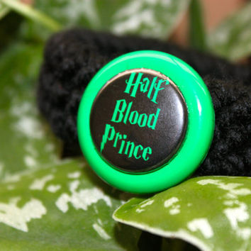 Harry Potter Half Blood Prince Kitty Cat Collar by FurButtons