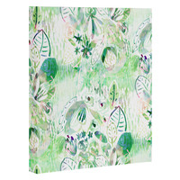 CayenaBlanca Mint lights Art Canvas