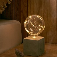 Brittany Firefly Concrete Table Lamp | Urban Outfitters