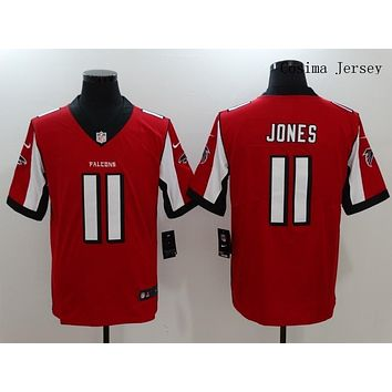 Danny Online Nike NFL Jersey Men's Vapor Untouchable Color Rush Atlanta Falcons #11 Julio Jones Football Jersey Red