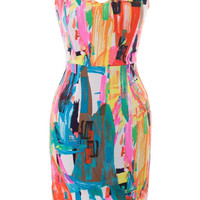 Piece of Art Dress - Pink