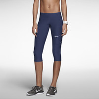 Nike Filament Women's Running Capris - Team Navy