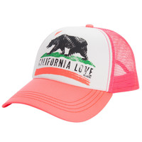 Billabong - Pitstop Trucker Hat | Neon Coral