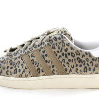 Adidas Superstar II YNG Animal Pack Leopard Brown/White Suede Men Shoes g28088