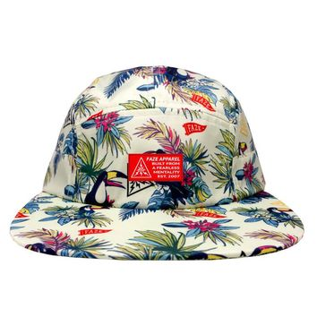 Welcome to the Jungle 5-Panel Hat in vanilla